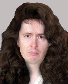 Picture of Dave with ridiculous long wavy hair