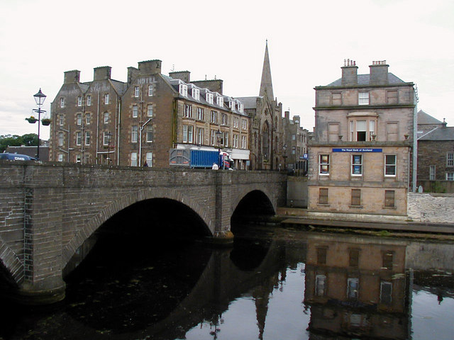 Wick town centre