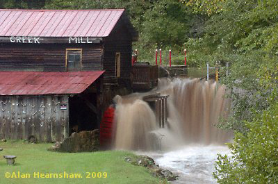 Mill at Skeener Creek, Georgia, USA
