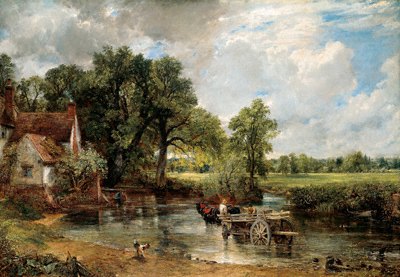 'The Haywain' (1821) by John Constable