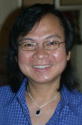 Dew, the co-host at Domino Pub & Restaurant, Bangkok