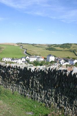 Mortehoe village in North Devon