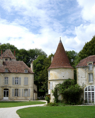 A chateau in the Burgundy region of France