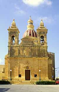 Gharb Parish Church, Gozo, Malta