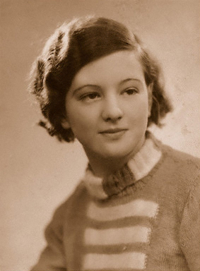 Liz Williams's mother, photographed in 1935