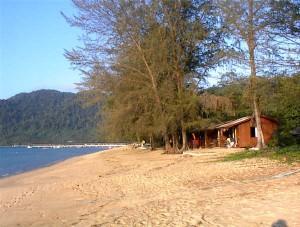 A beach on Malaysia's Tioman Island