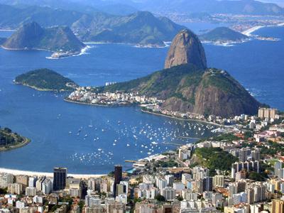 View of Rio de Janeiro and Sugar Loaf Mountain