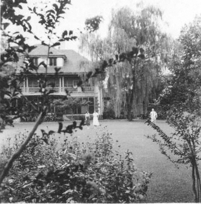 House in Avenue Haig, Shanghai, in the late 1940s