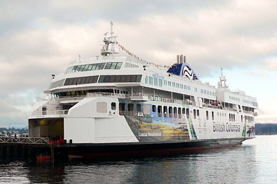 "he ""Coastal Renaissance"", the world's largest double-ended ferry"