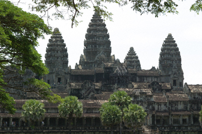 Angkor Wat, viewed from west-north-west