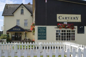 Fortescue Arms hotel and carvery in Woolacombe, North Devon