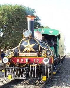 The Fairy Queen - the world's oldest steam locomotive pulling a main-line service