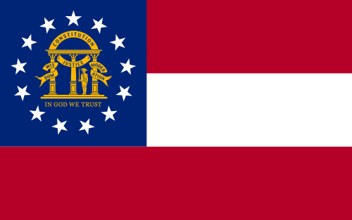 Flag of Georgia (US State)