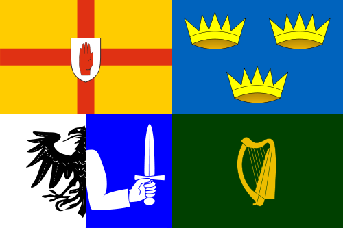 Flag of Ireland's Four Provinces