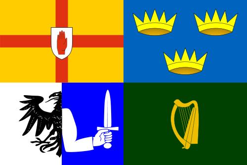 Flag of Ireland's Four Provinces