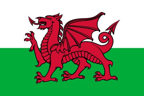 Flag of Wales - Y Ddraig Goch