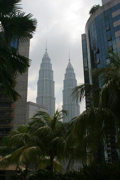 Kuala Lumpur's Petronas Towers by day