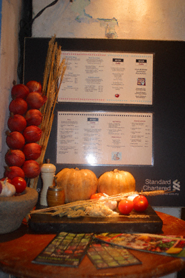 Ecco Italian restaurant in Lebuh Chulia, Georgetown, Penang