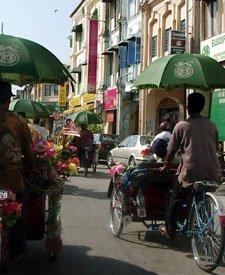 Trishaws in Penang