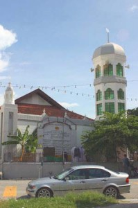 The Benggali Mosque in Lebuh Leith, George Town, Penang