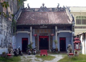 The Carpenters' Guild Temple in Lebuh Muntri, George Town, Penang