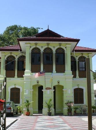 Residence of Ku Din Ku Meh in Jalan Penang, Georgetown