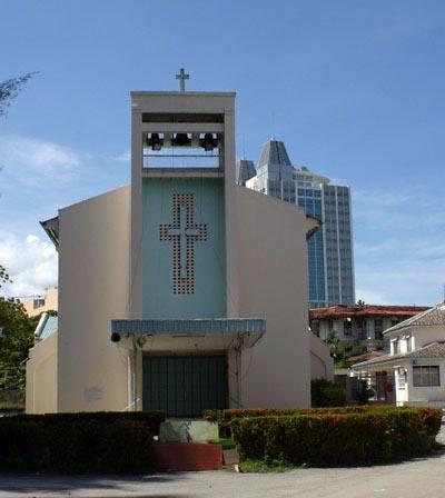 Church of St Francis Xavier in Jalan Penang, Georgetown, Penang