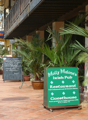 Molly Malone's Irish Pub, Restaurant and Guesthouse in Siem Reap