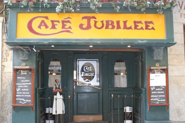 Café Jubilee in Triq Santa Lucija, Valletta, Malta
