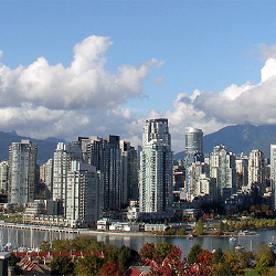 Vancouver skyline (Photo: Thom Quine)