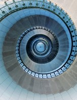 Staircase of the lighthouse at Île Vierge, Brittany