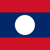 Flag of the Lao People's Democratic Republic