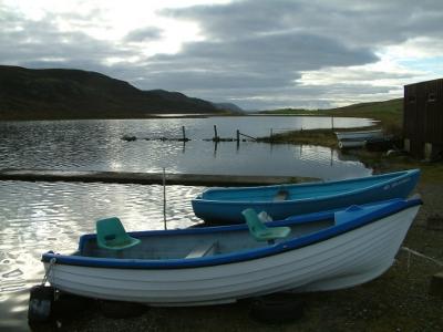 Tingwall Loch in Shetland