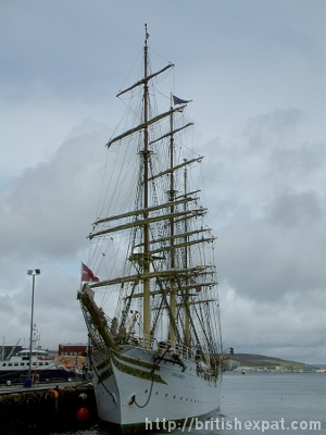 Sørlandet - a full-rigged sailing ship
