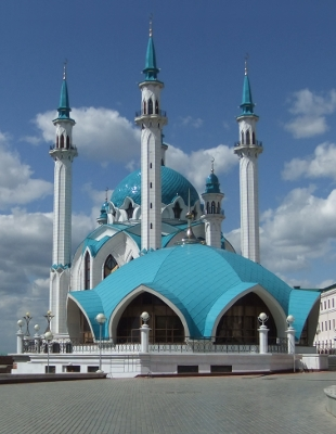 Qolşärif Mosque in Kazan