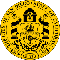Seal of San Diego, California