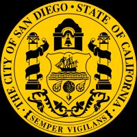 Seal of San Diego, California