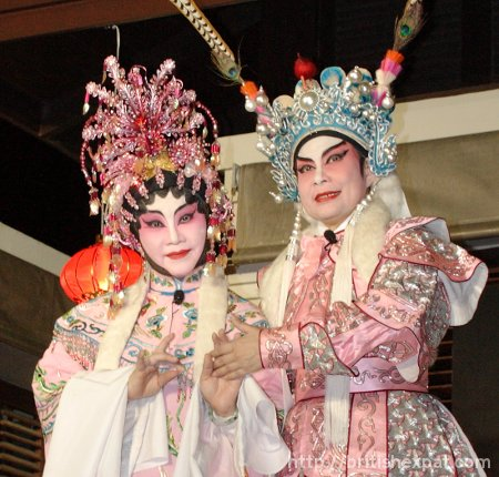 Chinese Theatre Circle performers