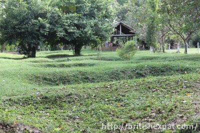 Mass graves at Choeung Ek killing field