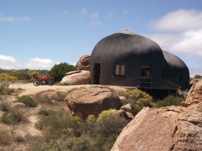 A mountain lodge in South Africa's Northern Cape Province