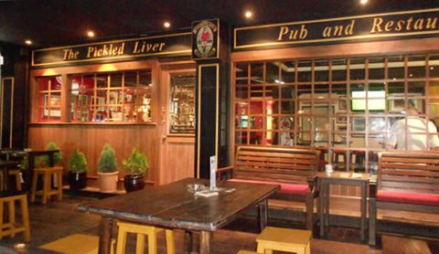 The Pickled Liver pub in Sukhumvit Soi 7/1, Bangkok