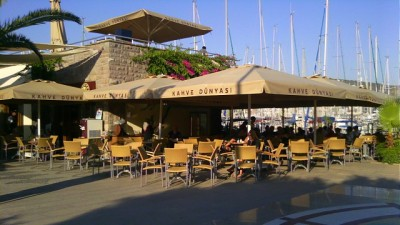 Coffee World, Bodrum Marina