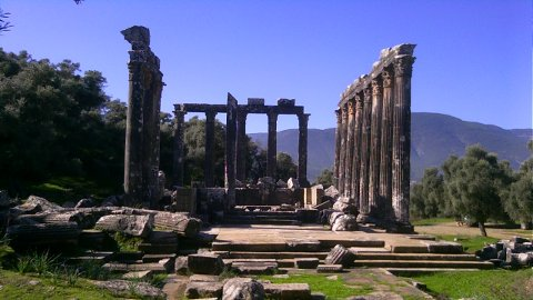 Temple of Zeus at Euromos, Turkey