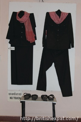 Uniforms worn by the Khmer Rouge, 1975-79