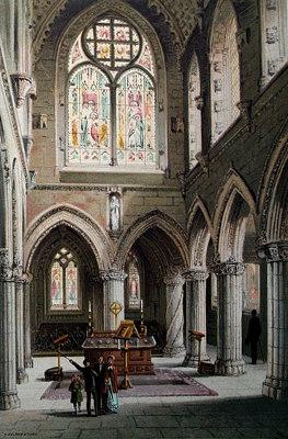 Interior of Rosslyn Chapel