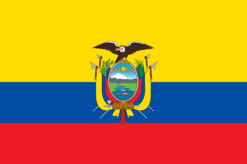 Flag of the Republic of Ecuador