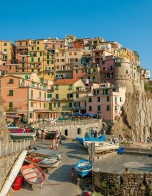 The village of Manarola in Italy's Cinque Terre