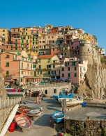 The village of Manarola in Italy's Cinque Terre