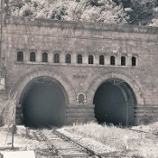 Simplon Tunnel, Italian (southern) entrance