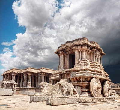 Vittala Temple at Hampi in India's Karnataka State